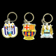 Promotion Badge High Quality Soft PVC Rubber Keyring Keychain 3D