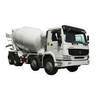 12CBM HOWO Concrete Mixer Truck and spare parts