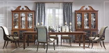 Genial Britannique Classique Windsor Château Meubles De Salle À Manger, Peint À La  Main Rectangulaire Table