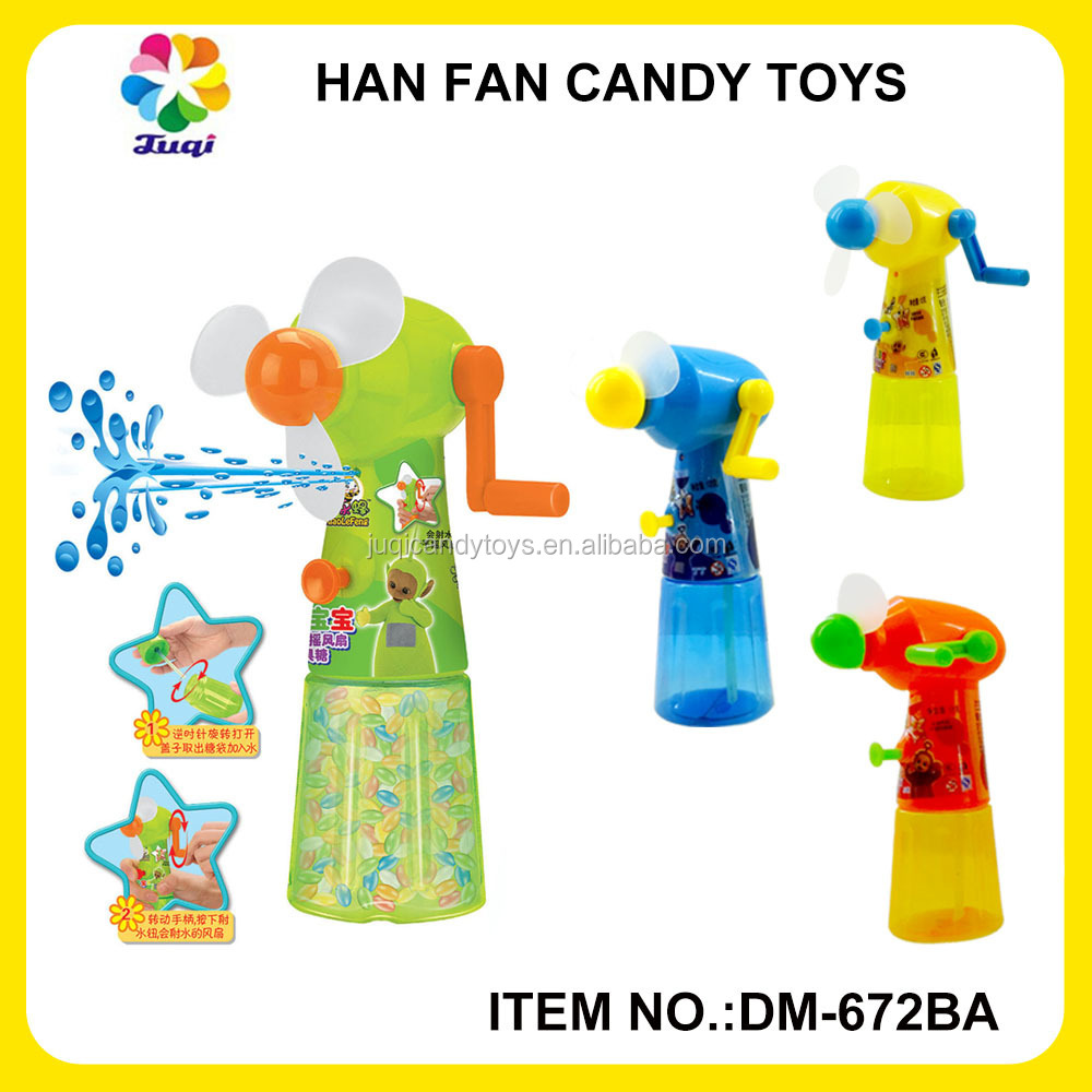 China Shantou Suppliers Wholesale Cute Hand Fan Candy Filled Toys ...