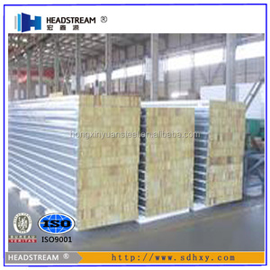 Fireproof Australian standard rockwool / mineral wool sandwich panel 50mm 75mm 100mm wall panel and roof panel