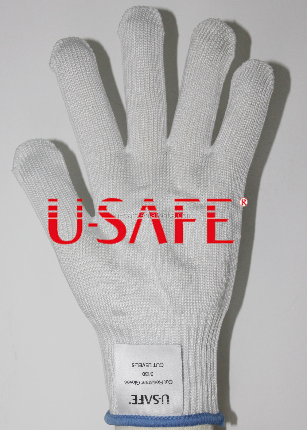 Knitted gloves Heat resistant Food processing gloves HHPE Food grade Gloves Kitchen Mesh Gloves