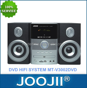 2.0channel Mini Dvd Hifi System With Vfd Display