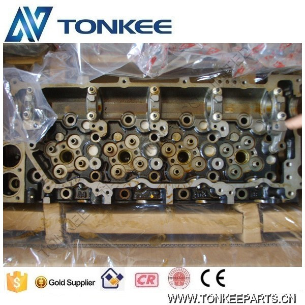 Excavator parts 4HK1-XYSA02 Cylinder head 4HK1 Engine cylinder head