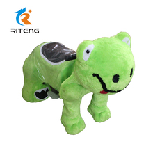 Amusement coin operated on toy animal plush kiddie ride parts