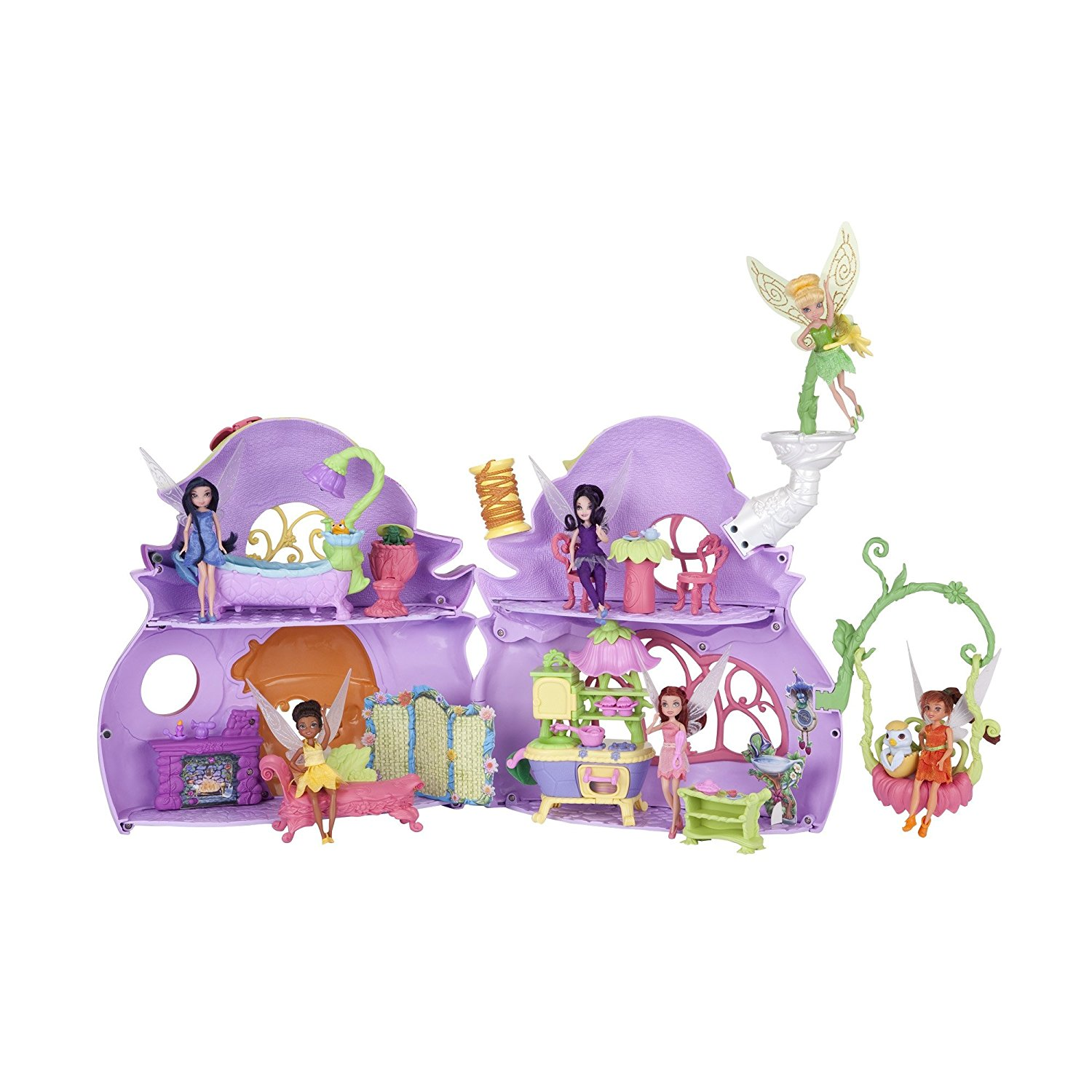 Disney Fairies Ultimate Fairy House - Tink's Pixie Cottage