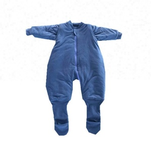 100% cotton 2.5 TOG baby sleeping romper, baby long sleeve romper