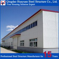 eu low cost portable steel frame warehouse buildings for sale