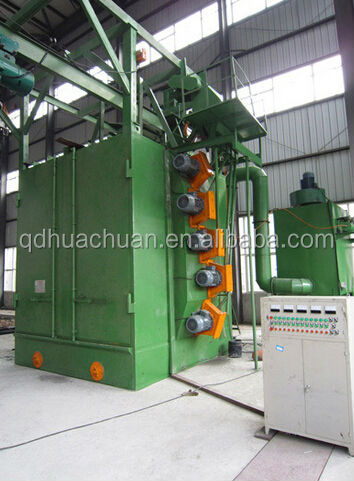 double hook shot blasting/blast machine manufacture and trade company Q37