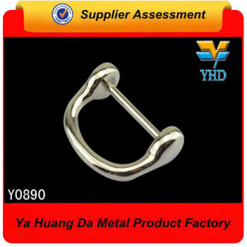 shinny nickel free metal d-ring from metal wholesale