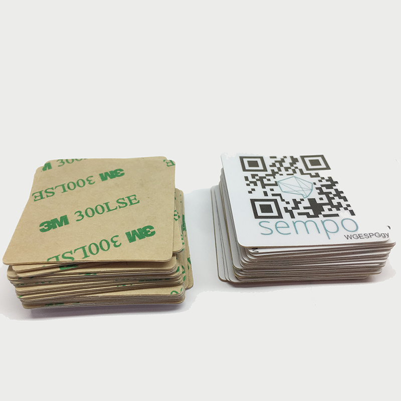 Access Control Access Control Cards Honest Wholesale Factory Price Impinj Monza R6 Long Range Uhf Rfid Tags Sticker With Dogbone Sample For Sport Race Warehouse Inventory