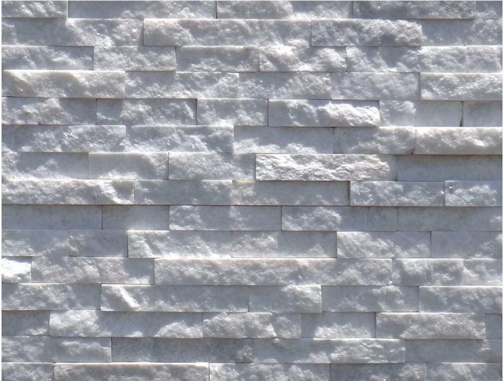 Hs zt003 pareti in pietra naturale pietra bianca bianco - Parete in pietra naturale ...
