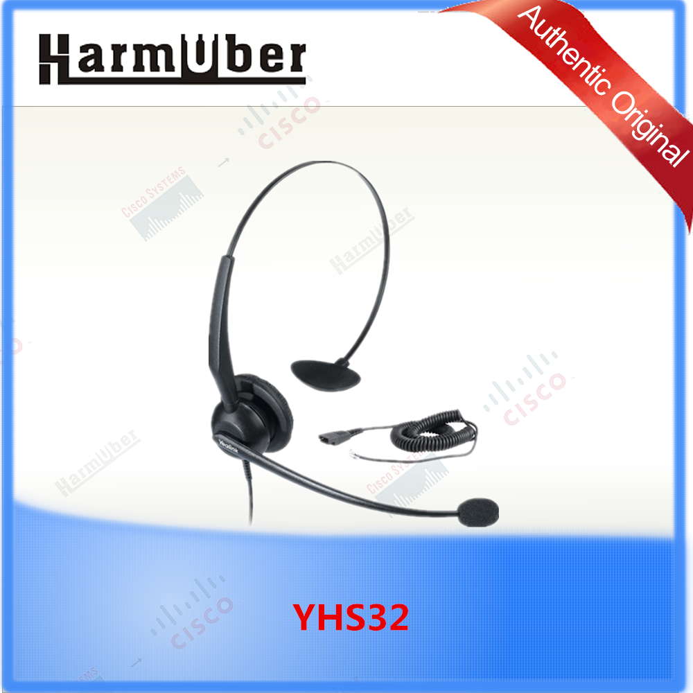 Noise Cancelling Yealink Call Center Headset YHS32 for yealink IP Phone