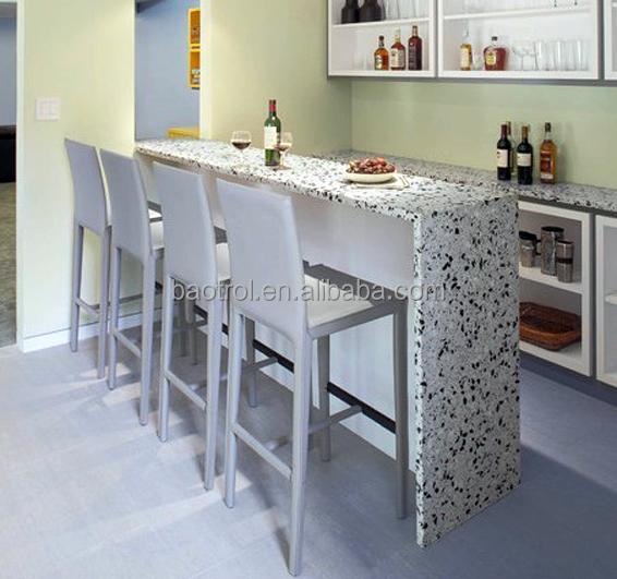 Small bar counter artificial marble counter home bar - Bar para casa ...