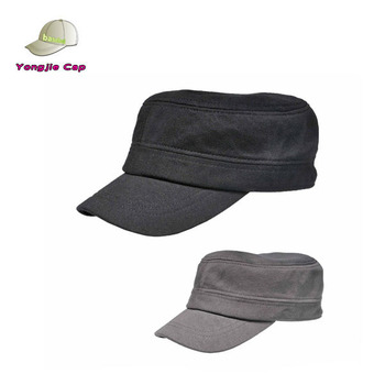 Best Korean Fashion Flat Army Cap Casual Outdoor Military Hat Online store f3356137298c