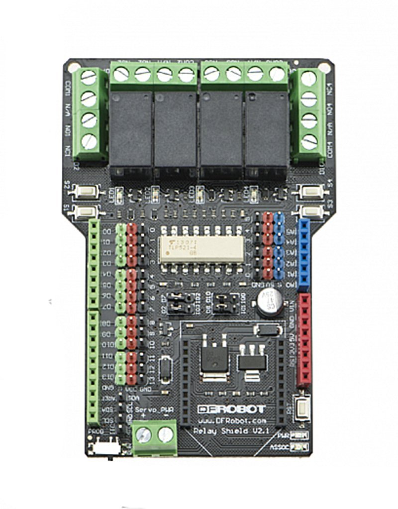 Cheap Arduino Relay Control Find Deals On Get Quotations Shield For V21 Using A Mobile Phone Or Computer Appliance