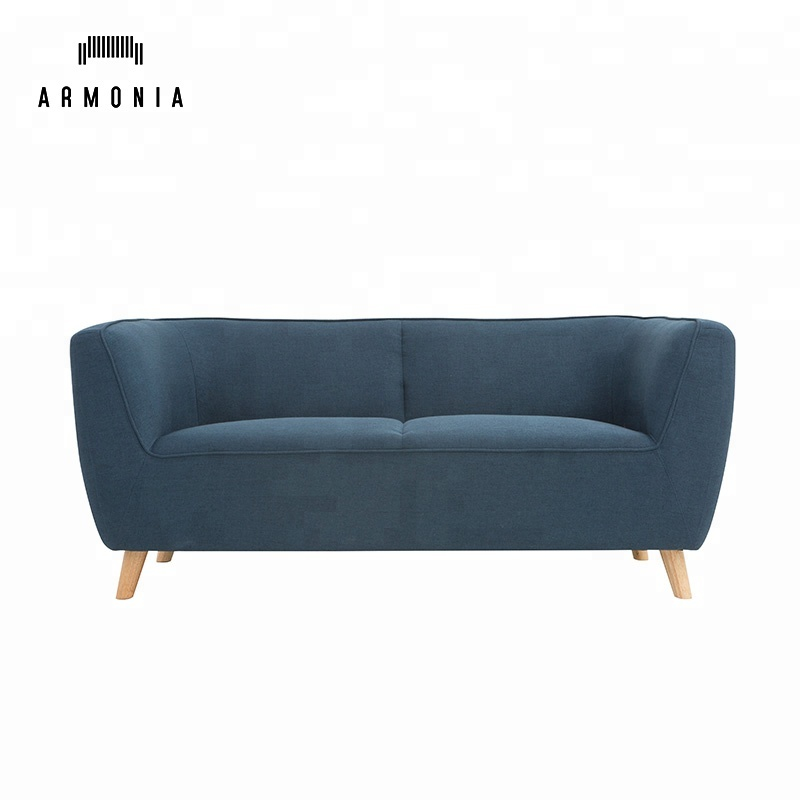 Modern Living Room 2 Seater Small Size Sofa