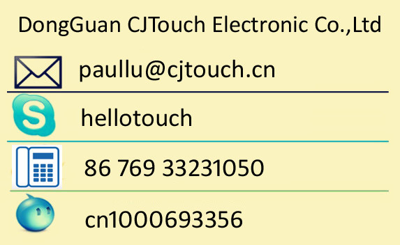 CJtouch 15.6 inch Surface Acoustic Wave SAW Touch Screen Panel with USB/Rs232 Controller (CTB156C-4K)