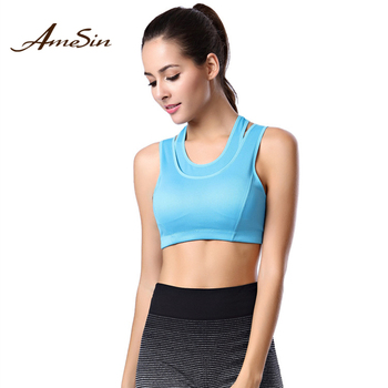 ada386659a976 OEM custom fashion comfort type sexy youth ladies sport bra vest cheap new  activewear yoga wear