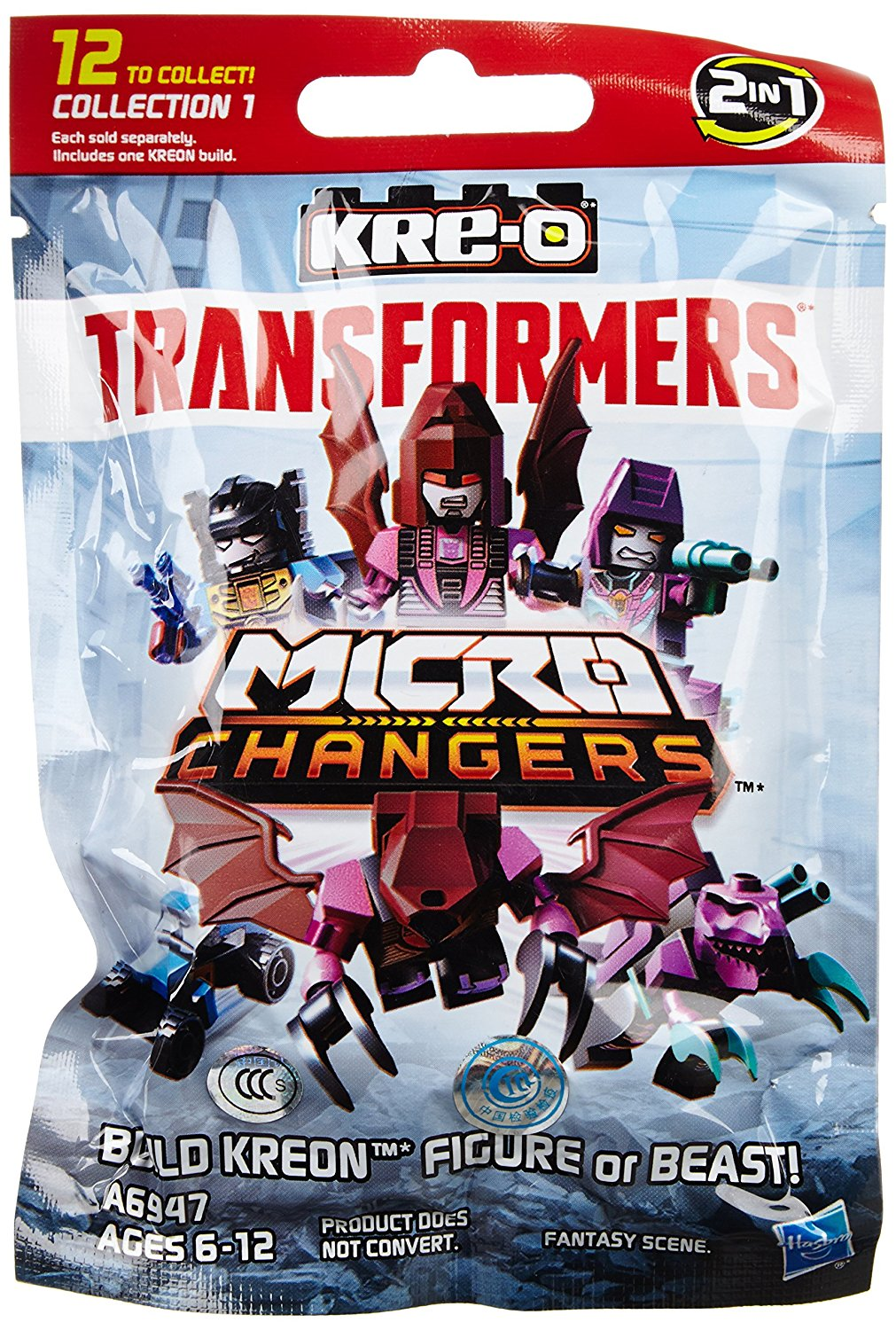 KRE-O Transformers Movie Micro Changers Collection 1