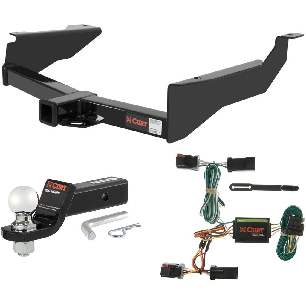 "CURT Class 3 Hitch Tow Package with 2-5/16"" Ball for 1998-2003 Dodge Durango"