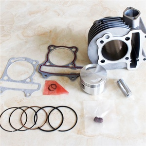GY6 150cc 57.4mm Cylinder Kit Piston Ring Gasket Scooter