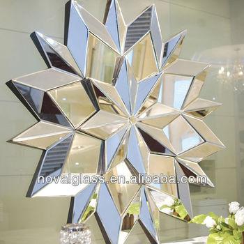 Decorative Wall Mirrors 5 Star Hotel Mirror Hand Made