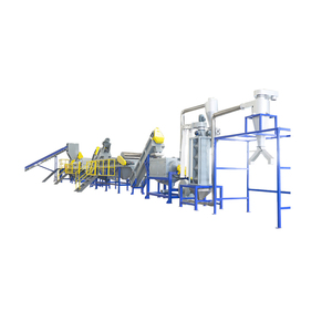 Waste HDPE Bottle Plastic Recycling Machinery