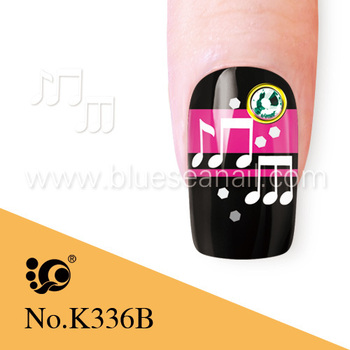 Melody Nail Art Decals White Water Transfer Stickers Buy Melody