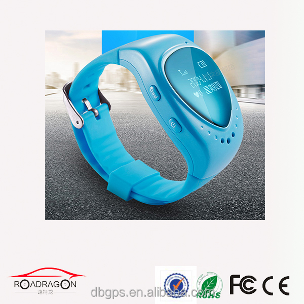 manufacture wholesale wearable gps tracker for kids with phone number and free platform