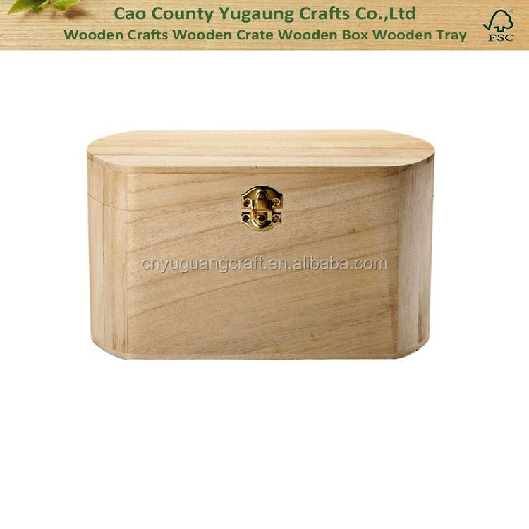Custom wooden decoupage box Unfinished wood boxes personalised wood cufflink box