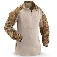 Digital camouflage military uniform military surplus dry-fire crye combat shirt
