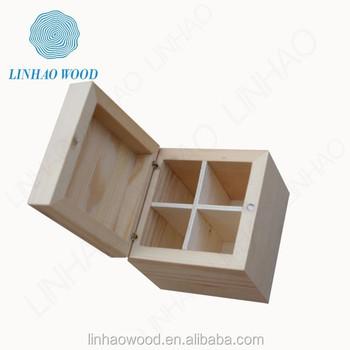 Factory Supplied Wooden Storage Box
