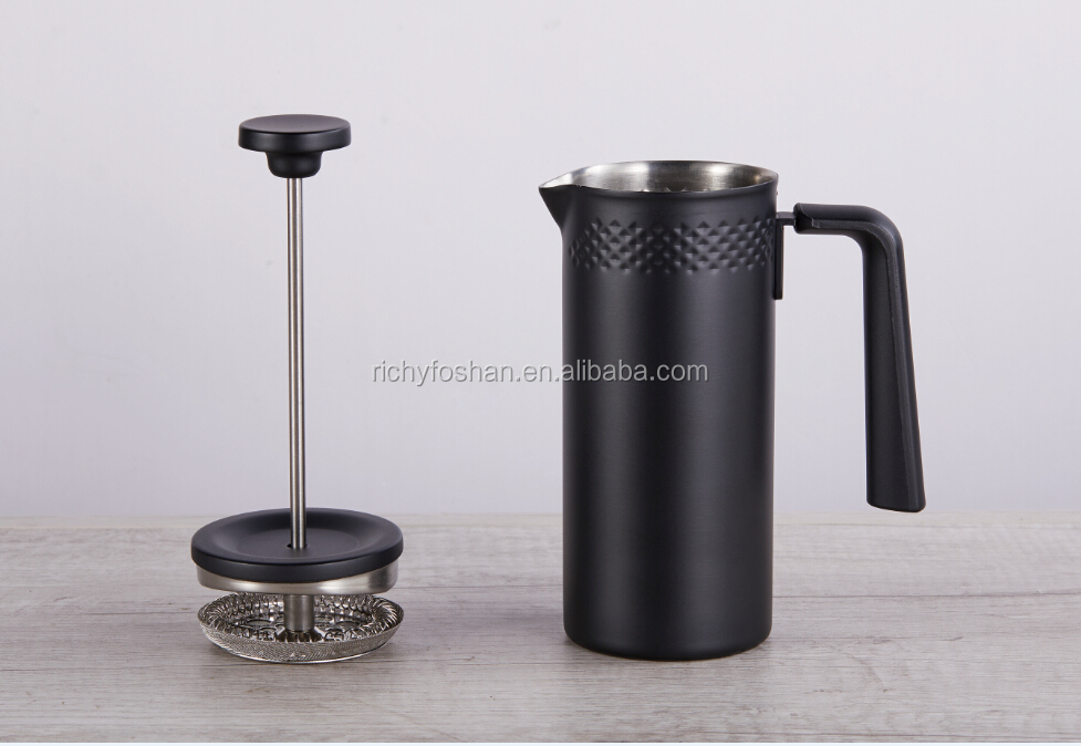 Mini size 350ml  stainless steel coffee french press