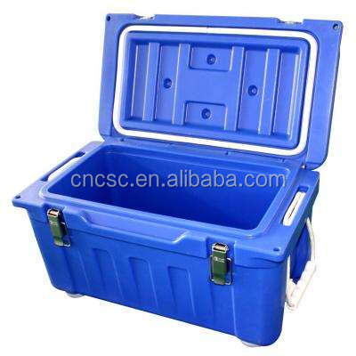Portable food cooler box, insulated food carrier, coolder box