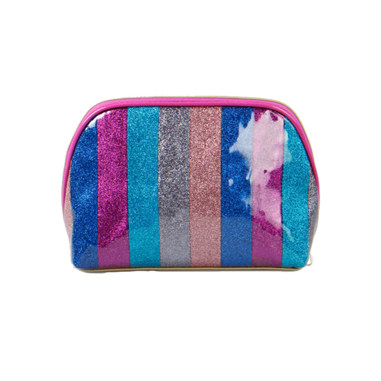 Candy color makeup waterproof polyester bag mini women cosmetic make up bag