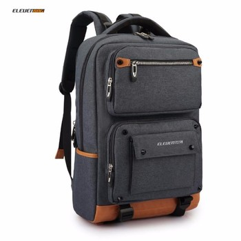 Compact Men S Laptop Backpack Uni Women Bagpack For Msi Or Hp Acer