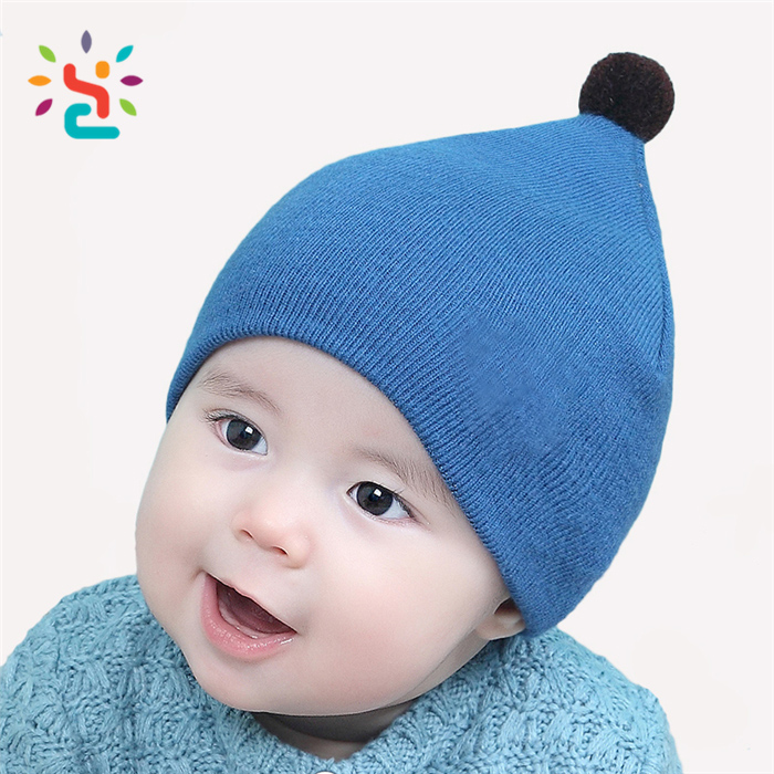 a376cd8a6e0 Wholesale wool baby yellow beanie hat gorras wool jacquard knitted cap  skull stocking caps with winter