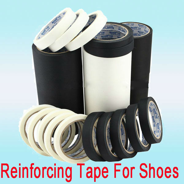 Reinforced adhesive nylon curing tape for shoes