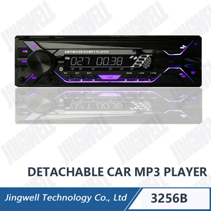 pioneer Car Mp3 Player With Remote Car Dvd Player With Bluetooth With Colorful LCD Car Mp3 with FM Car Audio Mp3 With Aux In