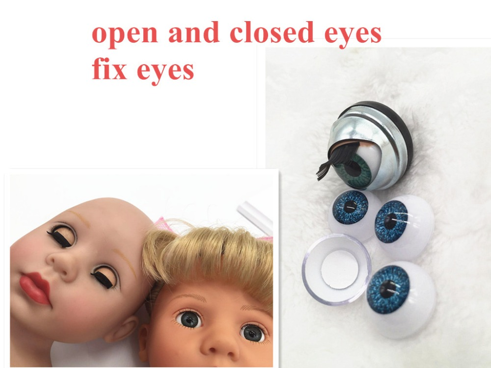 Blinking Big American Girl Doll Eyes in 18 inch Doll Accessories