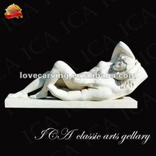greek white marble lady statue sculpture RLA0166