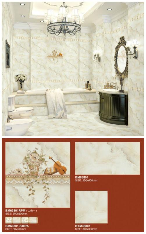 300x600 Italien De Luxe Design Beige Couleur Aaa Qualite Carrelage