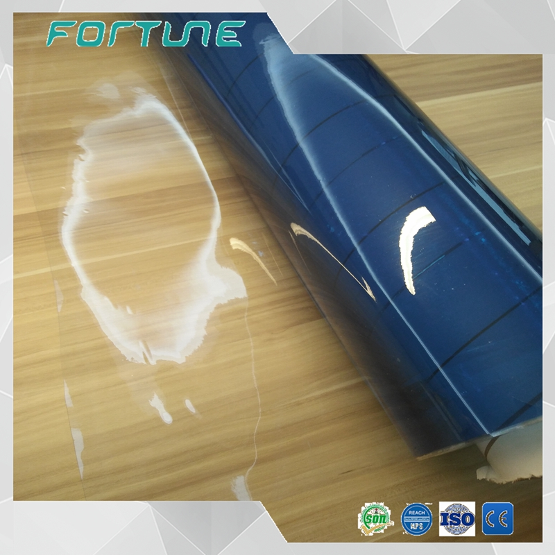 Plastic clear PVC film protection