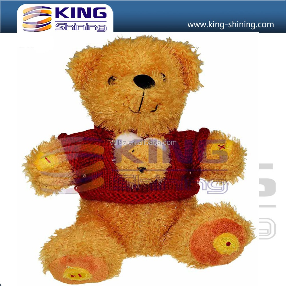 Sitting Music Teddy Plush Toy for Child Gift