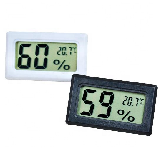 Embedded temperature and humidity meter Electronic digital thermometer and hygrometer without cable
