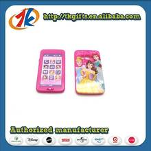 Beautiful Kid Plastic Phone Toy With Phone Cover