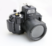 Meikon Underwater SLR Waterproof Camera Housing for Nikon D7000 18-55mm