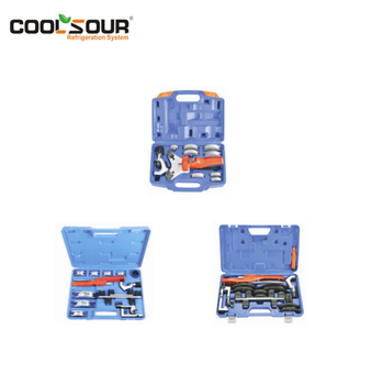 COOLSOUR High Quality Hand Tools 90 Degree Multi Tube Bender Kit