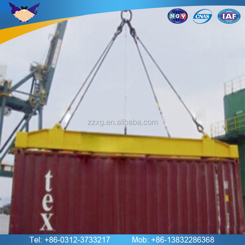 Custom-made frame steel lifting beam container lift spreader